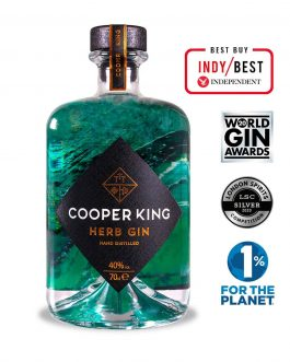 Cooper King – Herb Gin 70cl (40%)