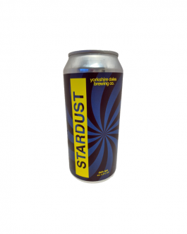 Yorkshire Dales Brewery – Stardust – DDH IPA 5.5% (Box of 12)
